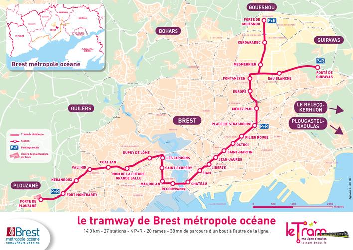 Plan Ville Des Brest